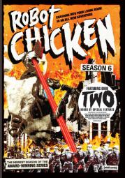 Robot chicken-season 6 (dvd/ws-16x9/2 disc) D344026D