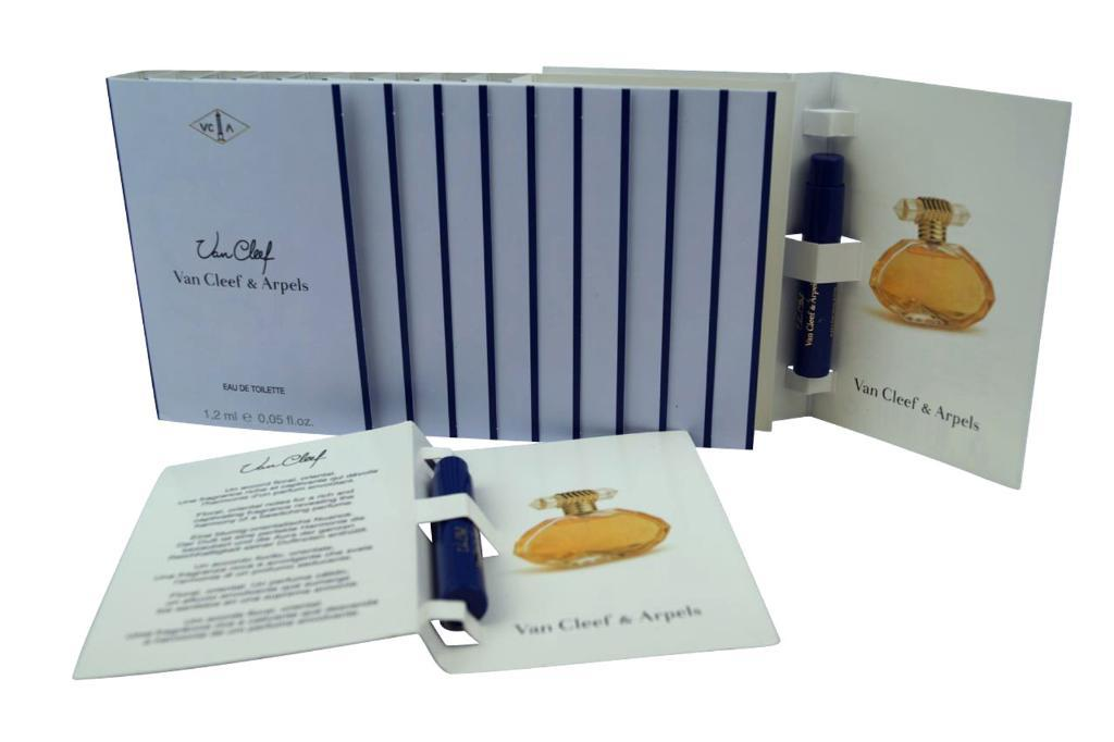 Van Cleef Arpels EDT Carded Vial set 1.2ml each (box of 12)