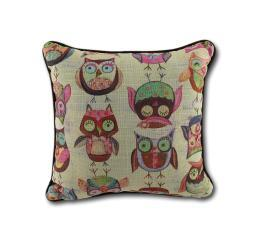 Wendy Bentley Give a Hoot Owl Accent Pillow 10 In.
