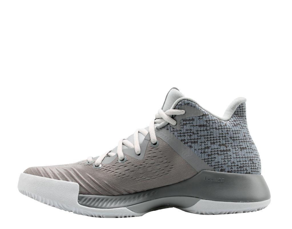 Adidas Adidas Mad Bounce Grey FTW White Grey Men s Basketball Shoes DA9781   3e2b934ee