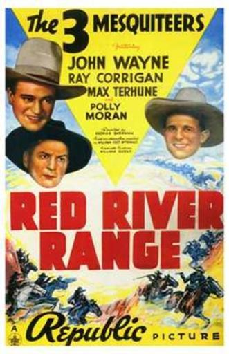 Red River Range Movie Poster (11 x 17) EGQV8K7IASQDQMHM