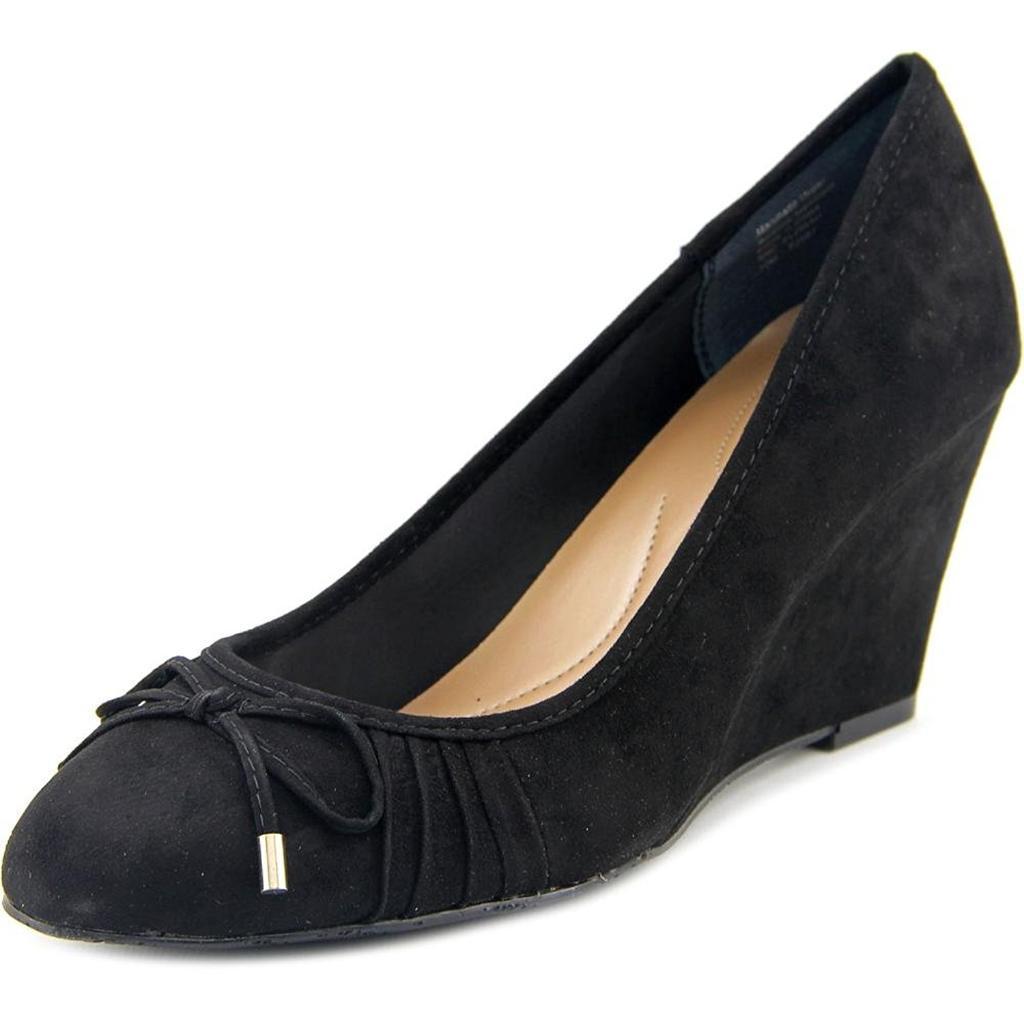 Style & Co Women's Florah Open Toe Synthetic Wedge Heel