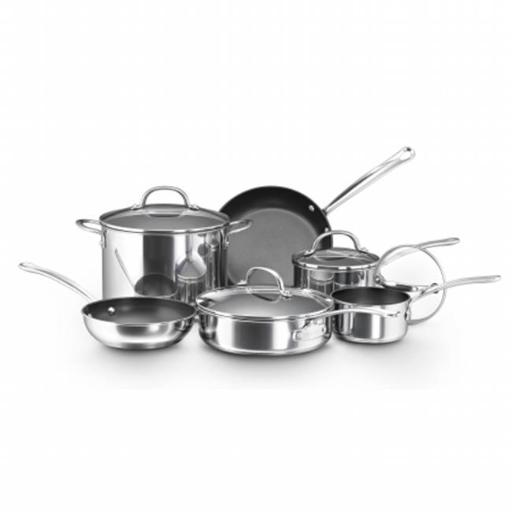 Farberware 75655 10-Piece Set Stainless Steel