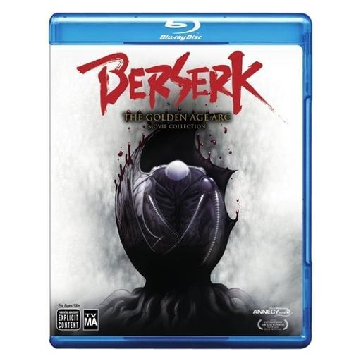 Berserk-golden age arc 3-movie collection (blu-ray/3 disc) 1292373