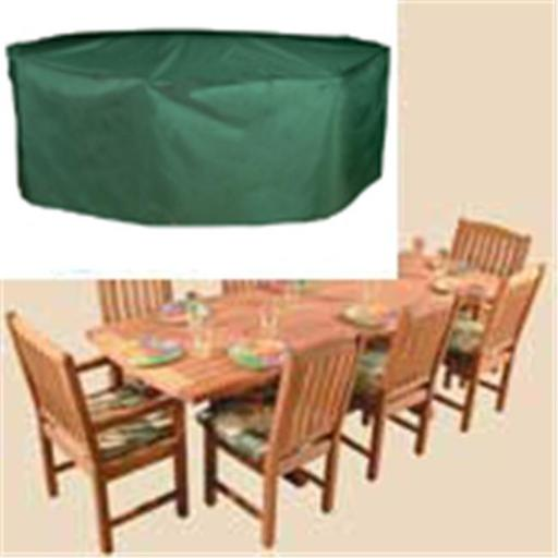 Bosmere C535 Oval / Rectangular Table & Chairs Cover - 8 Seat