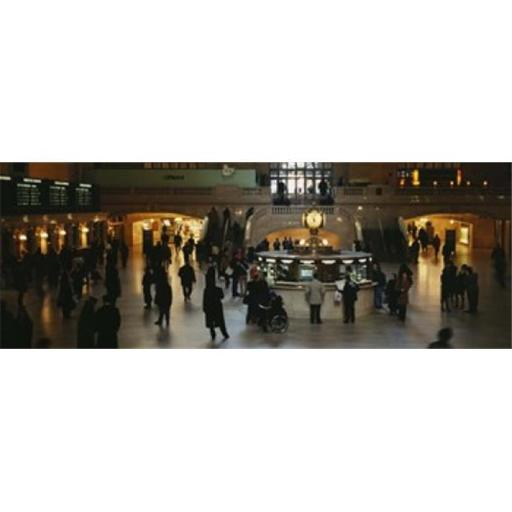 Panoramic Images PPI70826L High angle view of a group of people in a station Grand Central Station Manhattan New York City New York State USA Pos