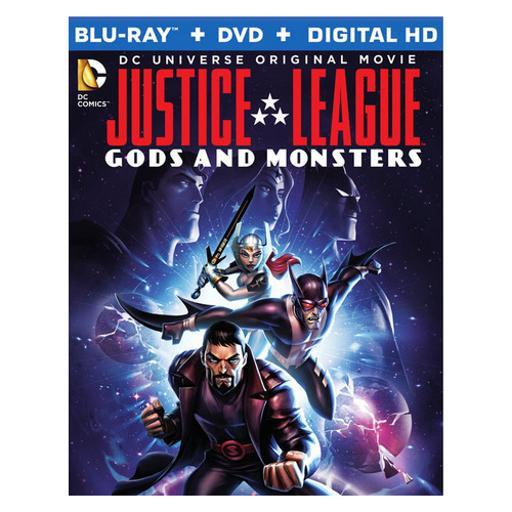 Justice league-gods & monsters (blu-ray) 1294019