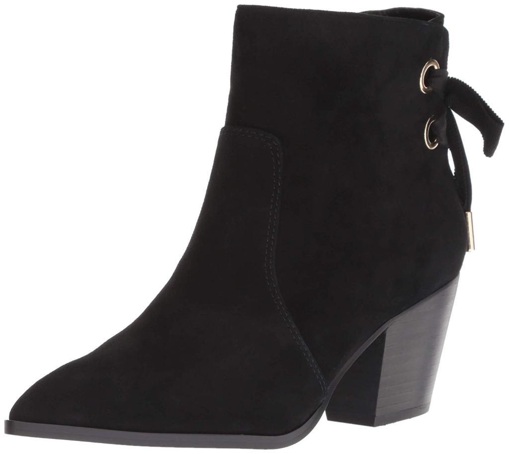 Bella Vita Elka Ankle Boots, Black Suede