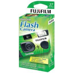 FUJIFILM 7033661 QuickSnap Flash 400 Disposable Single-Use Camera