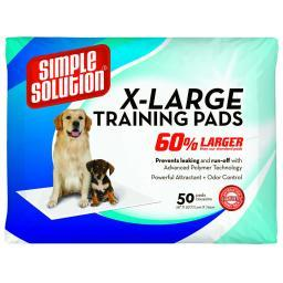 Simple Solution 11268 Simple Solution Training Pads 50 Count Extra Large 28 X 30 X 0.1