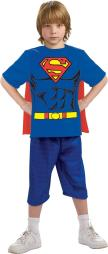 Justice League Child'S Superman 100% Cotton T Shirt  Large RU881346LG