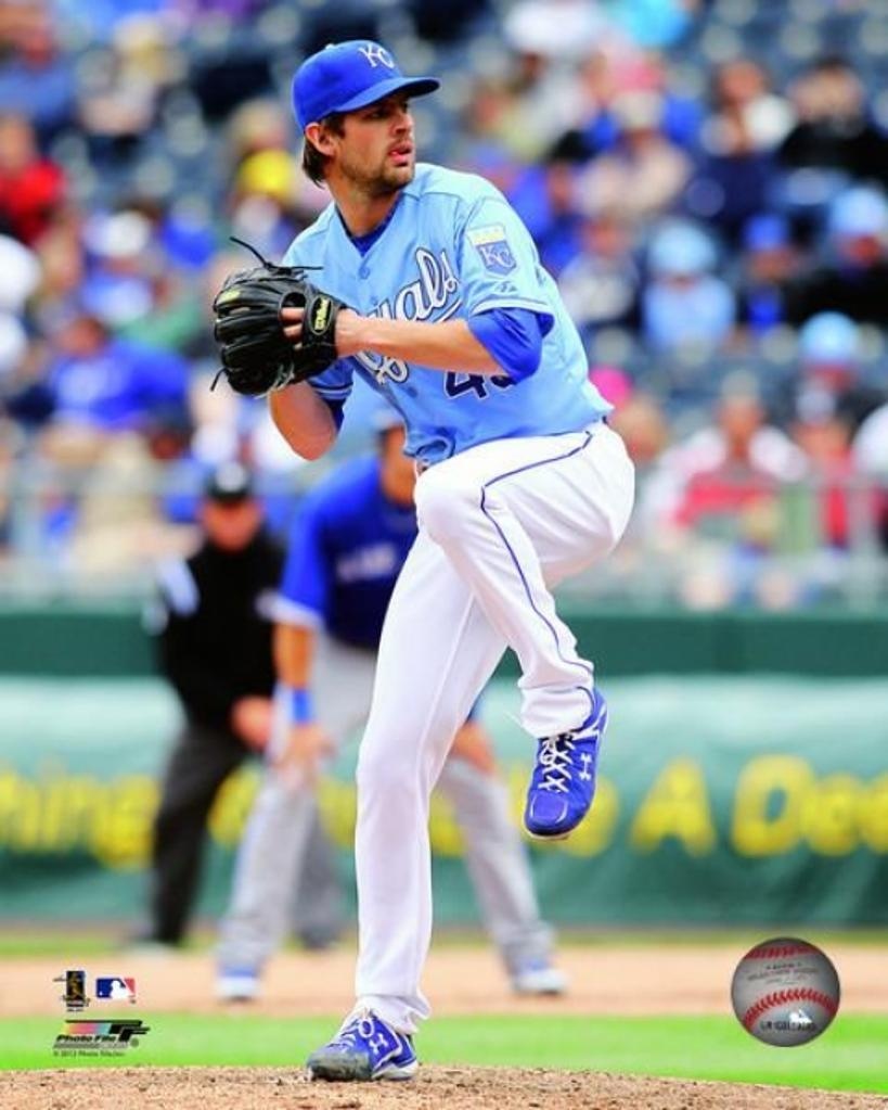 Aaron Crow 2012 Action Photo Print
