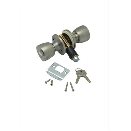 AP PRODUCTS 013220SS Entrance Knob Lock Set Stainless Steel