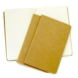 Chronicle / hachette book 04925 moleskine ruled cahier kraft pocket 3.5x5.5 3pk