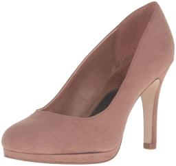 Madden Girl Womens DOLCE Closed Toe Classic Pumps, Dark Nude, Size 7.0