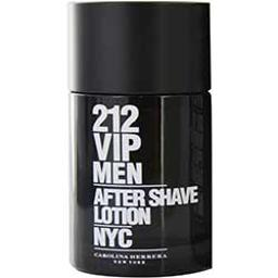 212 VIP by Carolina Herrera AFTERSHAVE 3.4 OZ (Package of 4)