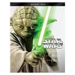 Star wars trilogy-episodes i-iii (blu-ray/dvd/combo/ws) BR2287622