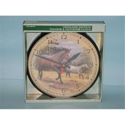 Accurite ACCURITE1865 8'' Horse Clock