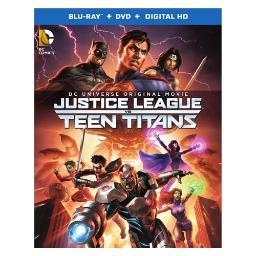 Justice league vs teen titans (blu-ray/dvd/digital hd/2 disc) BR536909