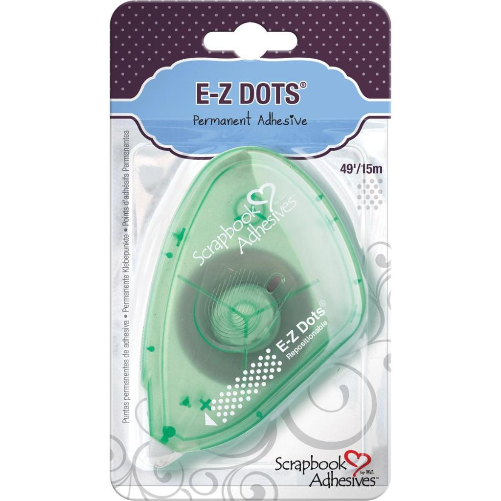 "Scrapbook Adhesives E-Z Dots Dispenser Repositionable, .375""X49'"
