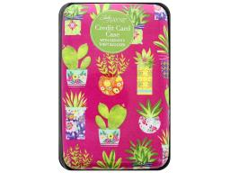 Ldj85161 lady jayne credit card case succulent pattern