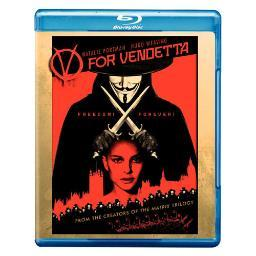 V for vendetta (blu-ray/ws-2.40/eng-sp-fr sub) BR21612