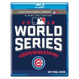 Mlb-2016 world series complete collectors edition (blu ray) (8discs/ws/1.78 BRSF17302