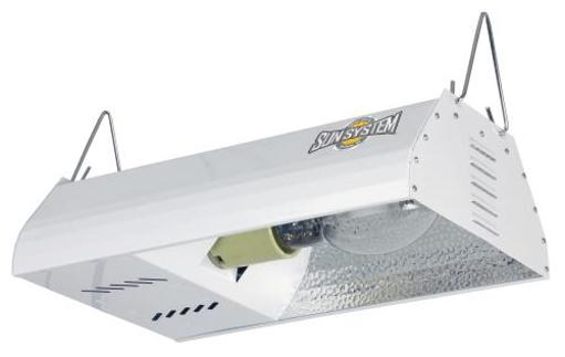 Sun System Grow Lights - HPS 150W Complete System with Ultra Sun Lamp - HPS Plug and Play Grow Lamp For Hydroponics and Greenhouse Use