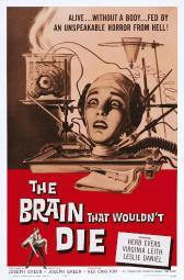 The Brain That Wouldn'T Die Us Poster Art Virginia Leith 1962 Movie Poster Masterprint EVCMSDBRTHEC006H