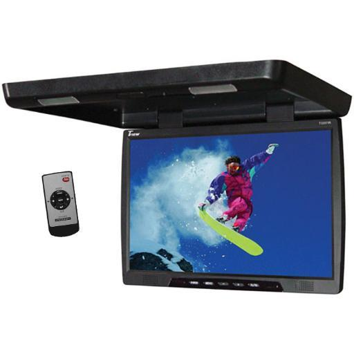 Tview Tview 22 Tft Lcd Black Widescreen Flip Down Monitor Remote 2 Video Inputs Screen Is 20