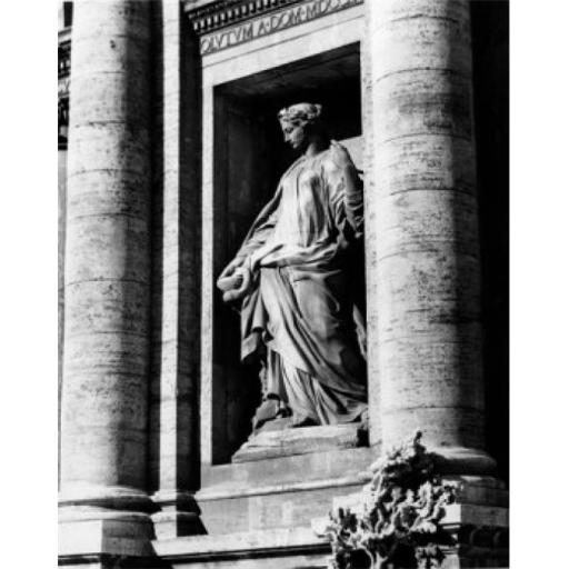 Posterazzi SAL25547307 Trevi Fountain Detail Rome Italy Poster Print - 18 x 24 in.