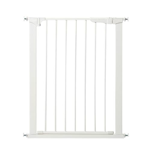 Kidco g1200 white kidco tall and wide auto close gateway pressure mounted pet gate white 29 - 47.5 x 36