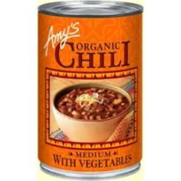 Amys Organic Medium Chili With Vegetable - 14.7 Ounce