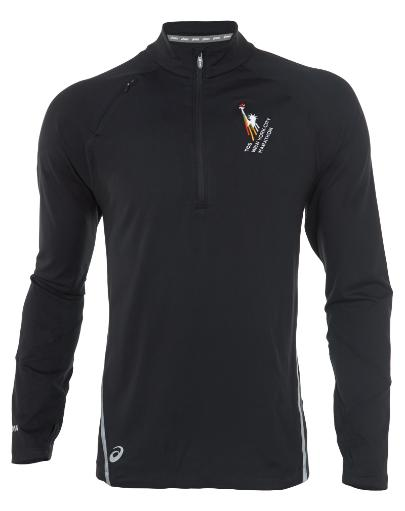 Asics Thermopolis Lt Thermal Lightweight 1/2 Zip Top Mens Style: Mr2208 559240