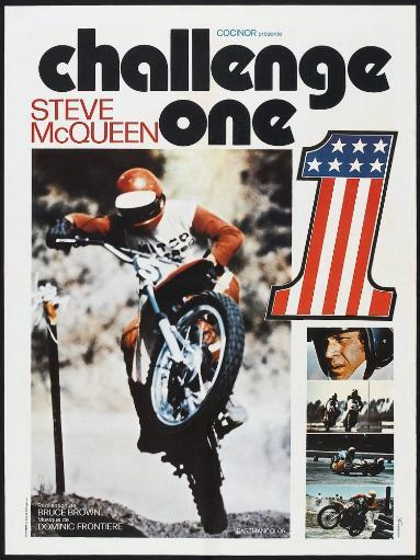 Challenge One French Poster Steve Mcqueen 1971 Movie Poster Masterprint HG3HZKRT4T8LGGQR