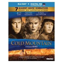 Cold mountain (blu-ray/ultraviolet dc/dts 5.1) BR31805