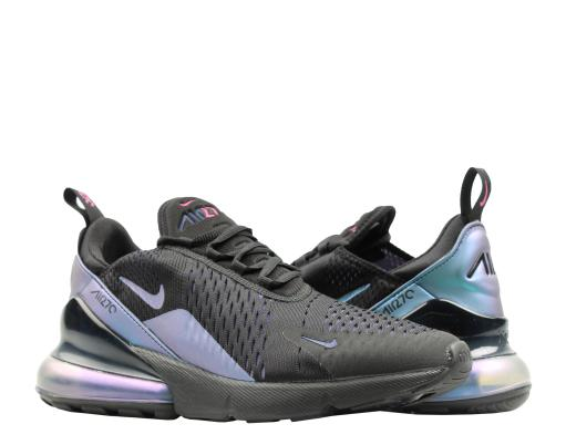 low priced 9d439 d868f Nike Air Max 270 Throwback Black Laser Fuchsia Men s Lifestyle Shoes AH8050- 020