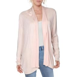 Cyrus Womens Ribbed Knit Duster Top