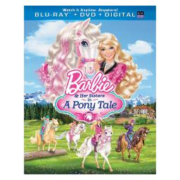 Barbie & her sisters in a pony tale blu ray/dvd combo w/dig copy/uv/2discs) BR63124835