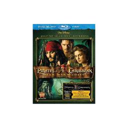 PIRATES OF THE CARIBBEAN DEAD MANS CHEST (BR/DVD/2 DISC COMBO) 786936812572