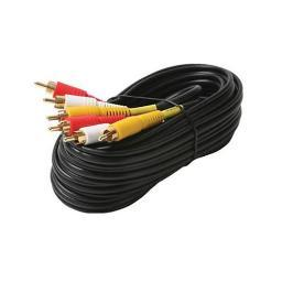 Steren Electronics Intl 206-276 6' St Vcr Cable Nickel 3X Shielded
