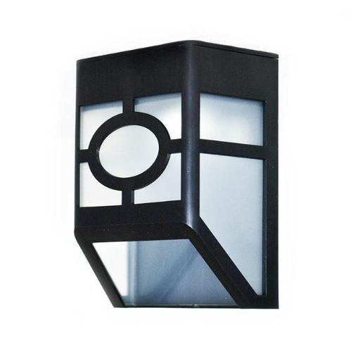 Aleko SLSC37-UNB Solar Powered LED Decorative Light Lamp for Outdoor Garden Fence