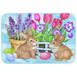 Carolines Treasures PJC1066LCB New Beginnings Easter Rabbit Glass Cutting Board, Large PJC1066LCB