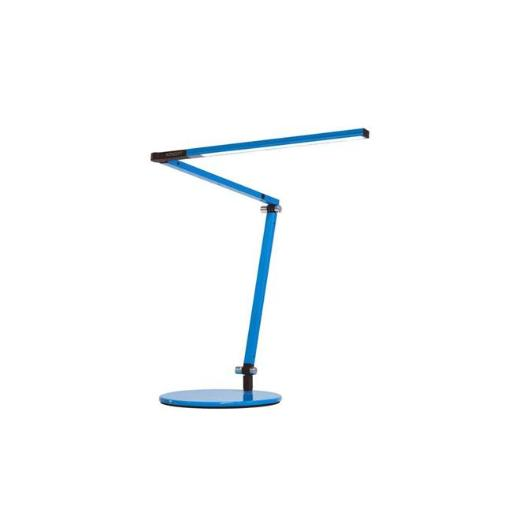 Koncept AR3100-WD-BLU-DSK Z-Bar Warm Light Mini LED Desk Lamp with Base, Blue
