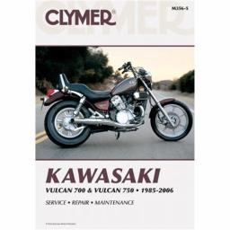 Clymer M356-5 Kawasaki Vulcan 700 And 750, 1985-2006