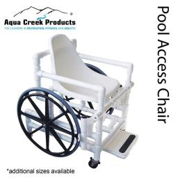 Aqua Creek Products F-520wspps 21 In. Wide Plastic Seat Pool Access Chair