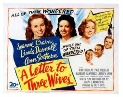 A Letter To Three Wives Movie Poster Masterprint EVCMMDLETOFE002H