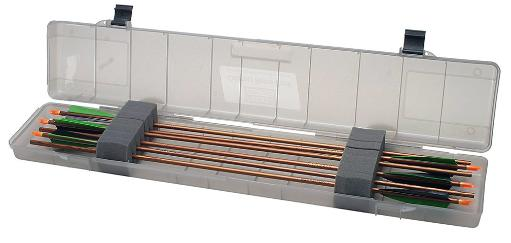 Mtm bh-18s-41 mtm compact arrow case 18 arrows up to 35.75in clear smoke