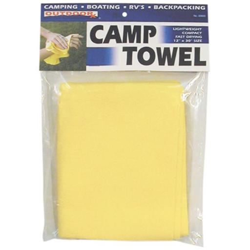 Outdoorx 284008 12in. x 30in. Camp Towel