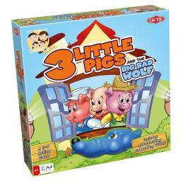 Tactic USA TAC53849 3 Little Pigs Board Game